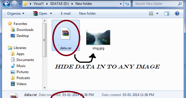 How To Hide Data Behind Any Image   Computer Tricks & Hacks