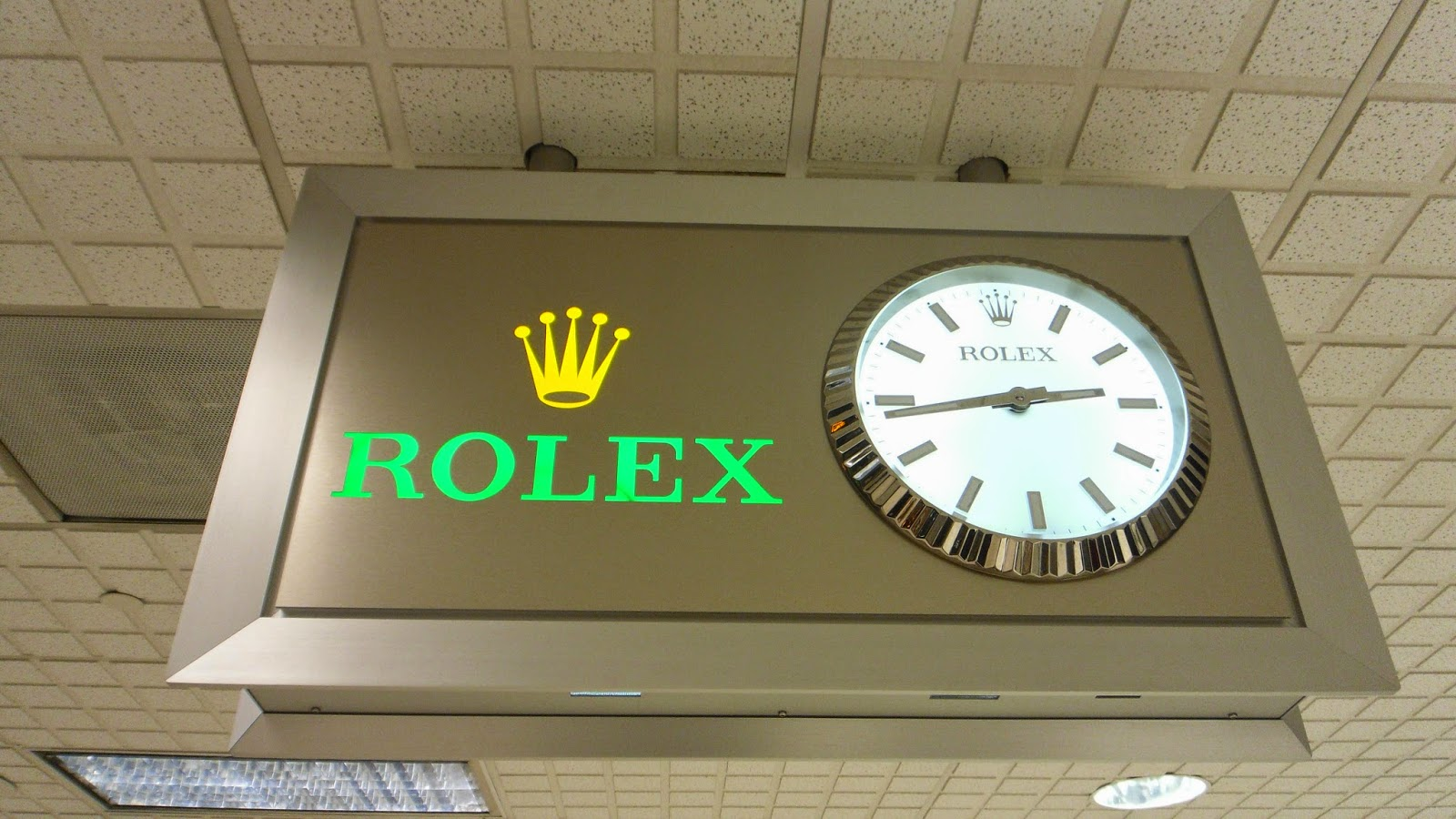 Save enough time and money to buy a Rolex