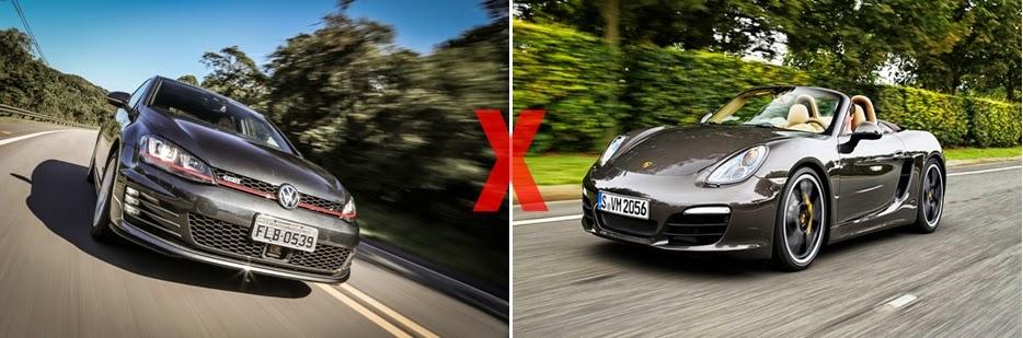 A Briga: Golf 2.0 GTi x Porsche Boxster S