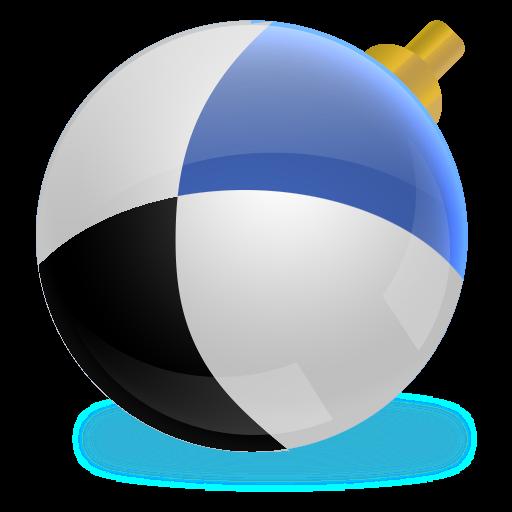 free shiny social media ball icons set download
