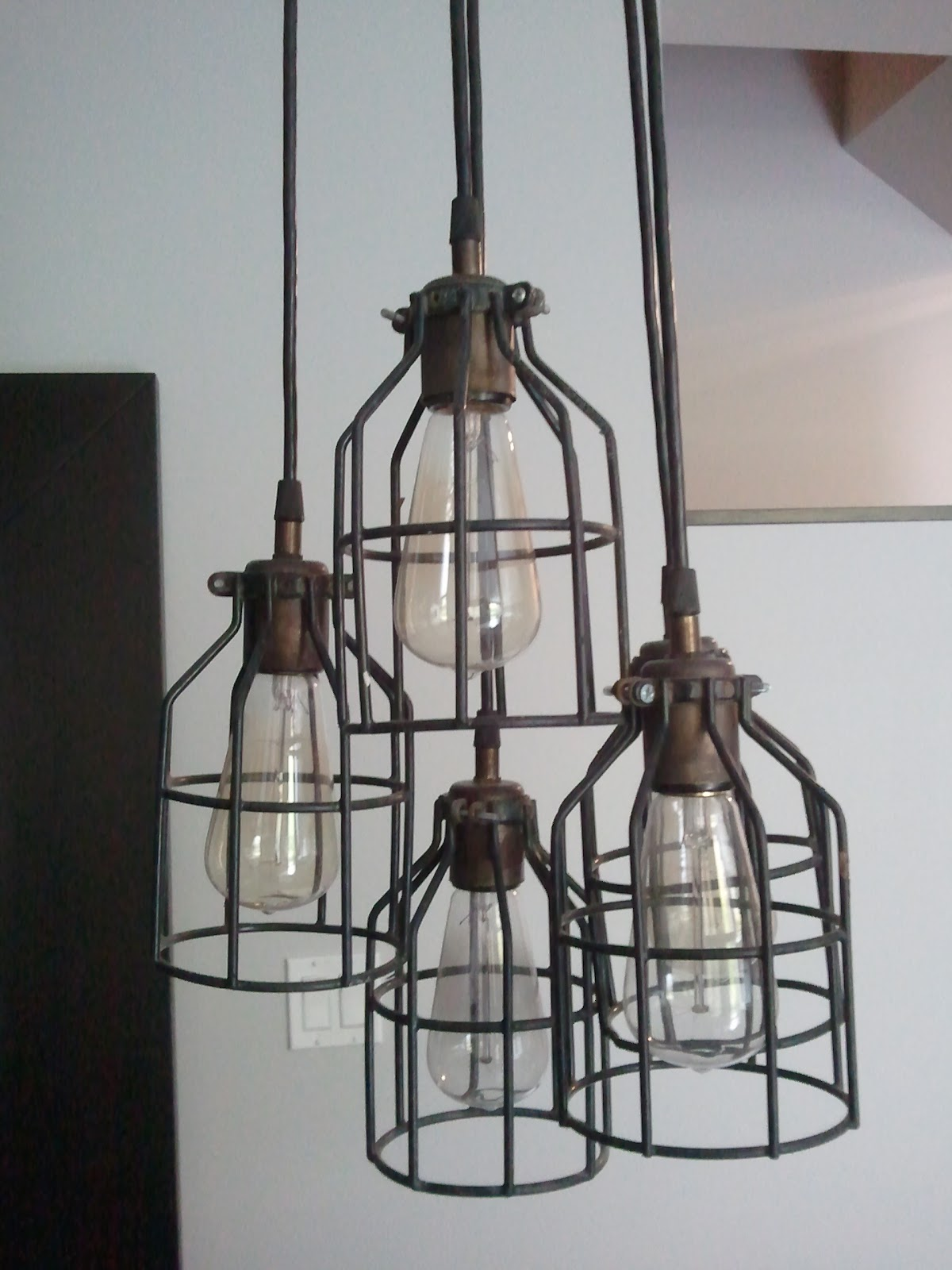 Smitten list industrial chic chandelier Industrial style chandeliers