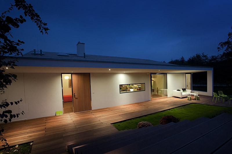 Villa 3s la casa del arquitecto dise o de interiores en for Casa techo 1 agua
