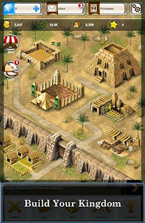 Screenshots of the Ramses Strategy game for Android tablet, phone.