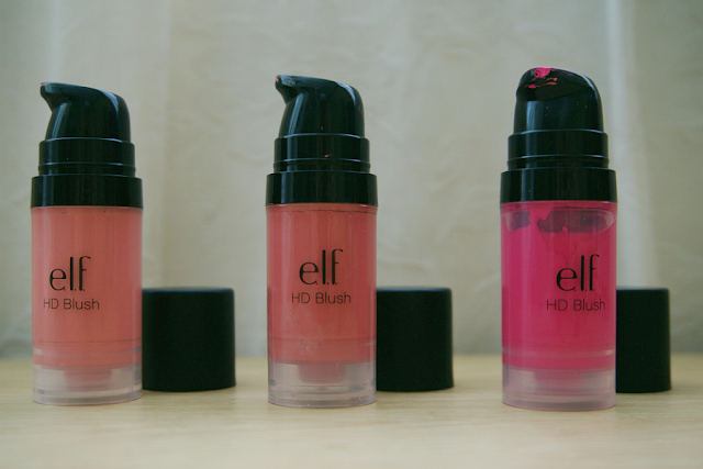 e.l.f. Studio HD Blush: Headliner, Superstar, Diva