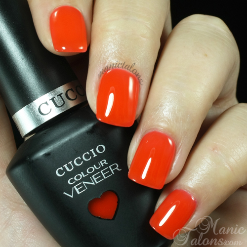Tutti Frutti Nails: Manic Talons Nail Design: Cuccio Colour Veneer Swatch Gallery