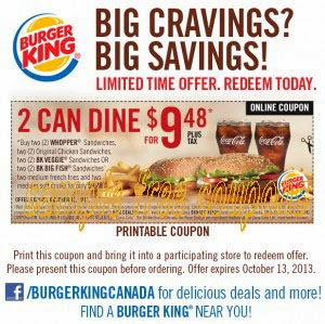 King of the ribs coupons