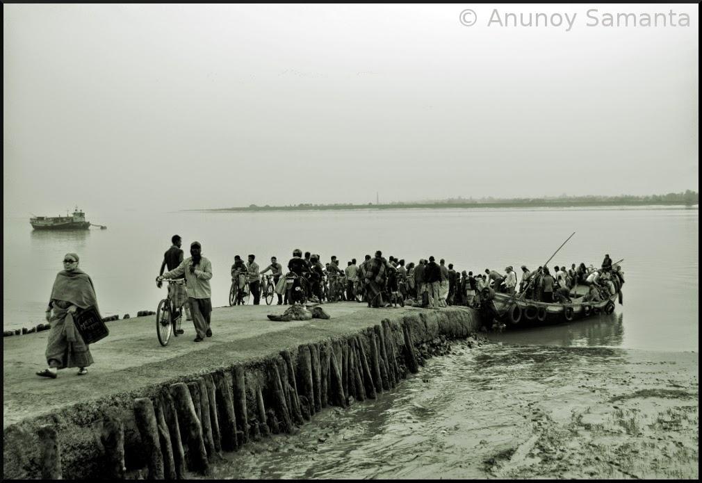 River Connection - the teeny weeny Haldi