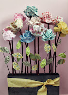 Long Stemmed Fabric Roses