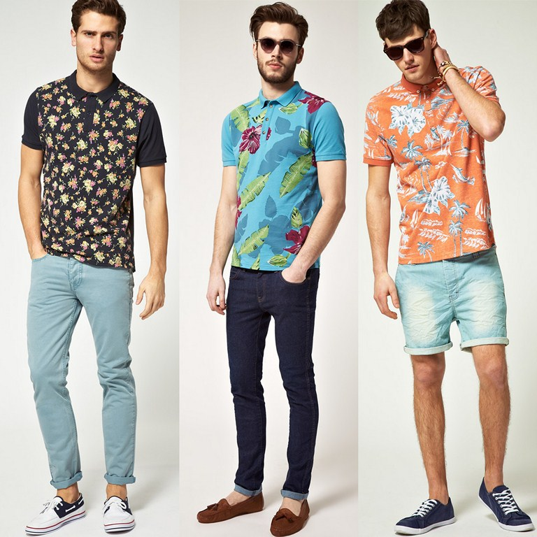 Style Conundrum: Men's Floral Print Polo Shirts