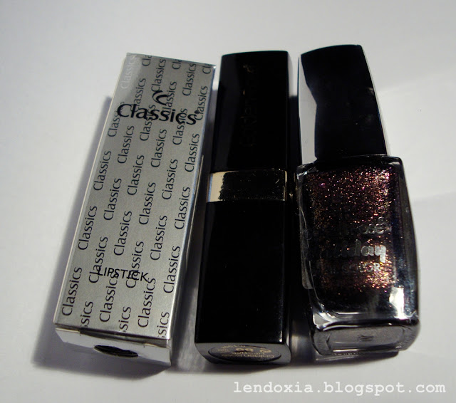 golden rose lipstick nail polish
