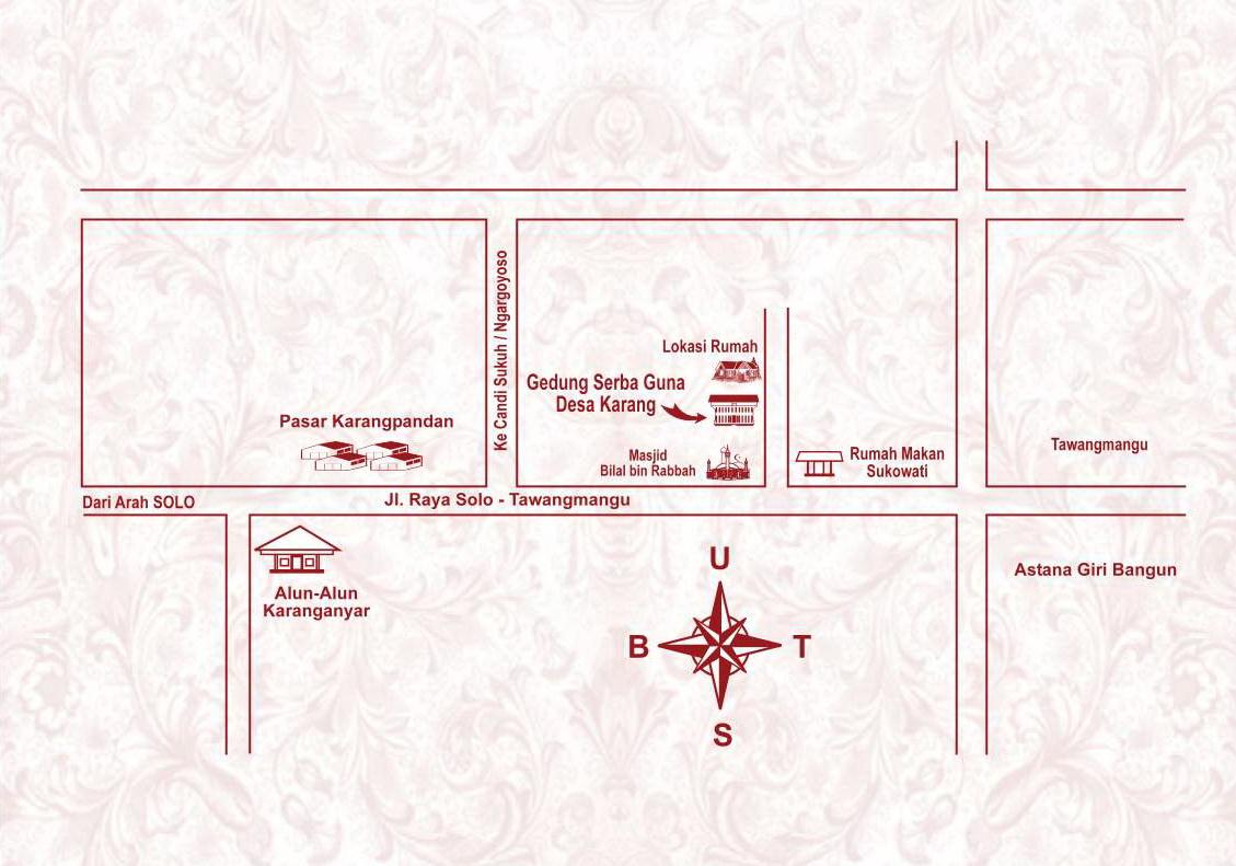 Khomsun Arifin: Form undangan dan denah