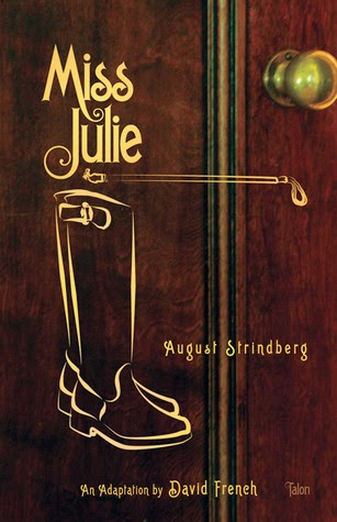 Theatrical Play Miss Julie cover