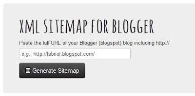 Cara mendapatkan Kode Submit Sitemap  di Blog