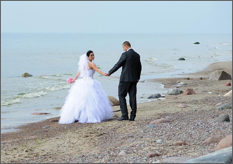 Vestuvės Klaipėdoje prie jūros
