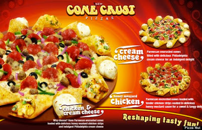 Pizza Hut Cone Crust Pizza
