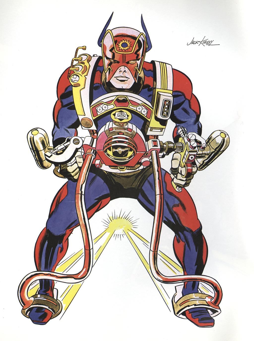 Cap N S Comics Orion By Jack Kirby