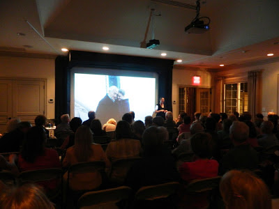 The latest Athertyn Enrichment Series event featured Victoria Wyeth presenting Andrew Wyeth Paints Maine, an intimate look at her grandfather's extraordinary life and work.