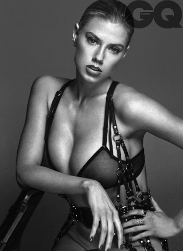 Charlotte McKinney hot photos for GQ UK Magazine Photoshoot Outtakes December 2015