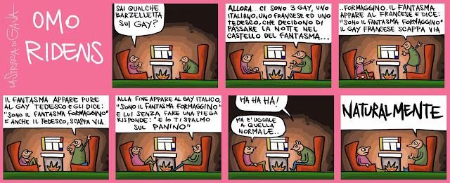 Yanez Pubblico Gava Satira gavavenezia gavavenezia.it Gay Diritti omosessuali