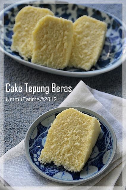 cake tepung beras