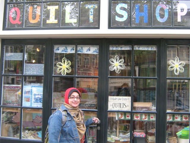 pondok craft quilt shop in amsterdam