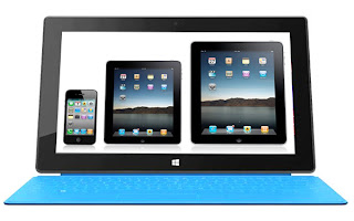 Microsoft Surface-iPad Mini: Intelligent computing