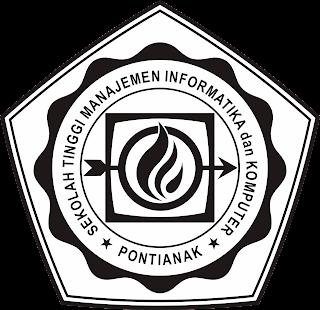 Logo STMIK Pontianak - Hitam
