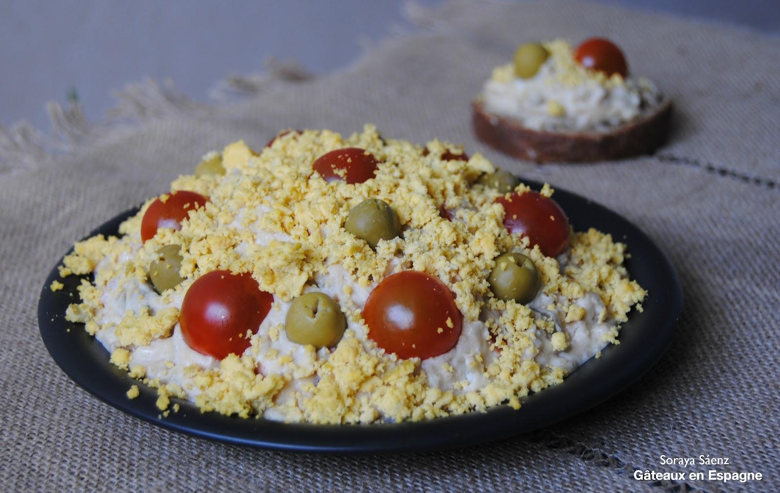 G teaux en espagne salade russe - Pourquoi on ne coupe pas la salade ...