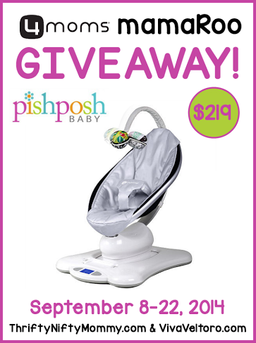 Mommy Testers, 4moms mamaRoo, 4moms mamaRoo giveaway