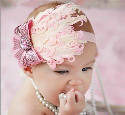 VINCHAS PARA BEBES HEADBANDS BABY - Cómo peino a una bebe con poco pelo