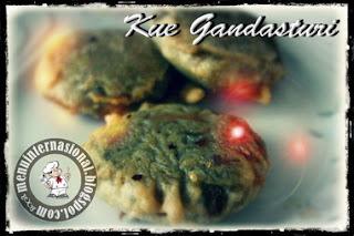 Cara Membuat Kue Gandasturi/Kumbu Istimewa Manis dan Gurih