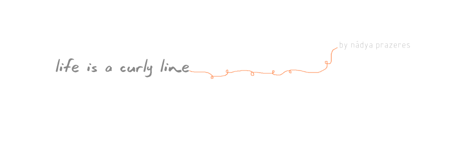 life is a curly line