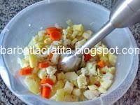 Supa crema de legume preparare reteta