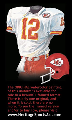Kansas City Chiefs 1984 uniform