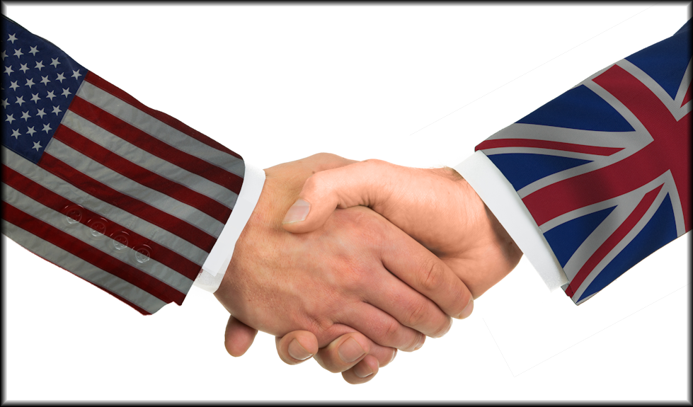 US UK Handshake