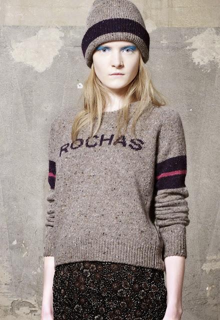вязаный свитер 2013 Rochas