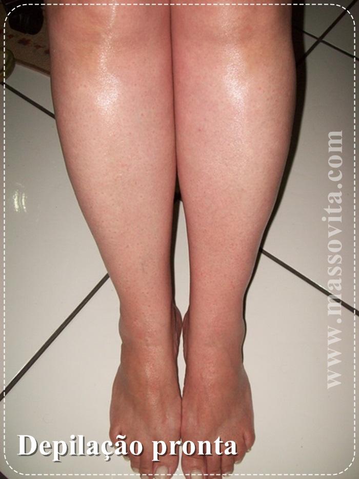 pós depilação