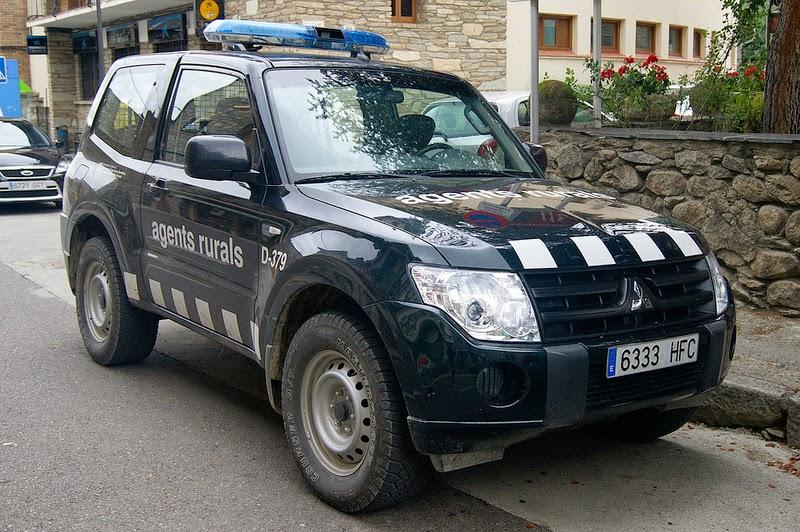Vehículo de los Agents Rurals de Cataluña