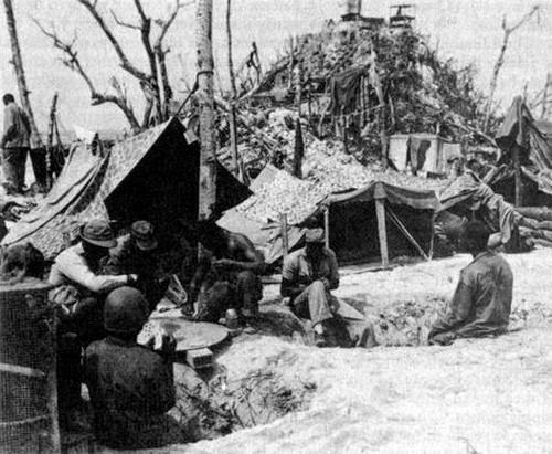 Marines the battle of peleliu originated quot the thousand yard stare