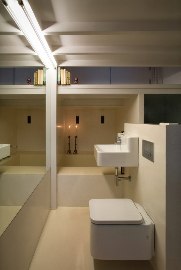 Baño Debajo De Escalera Con Ducha:Piccoli spazi crescono