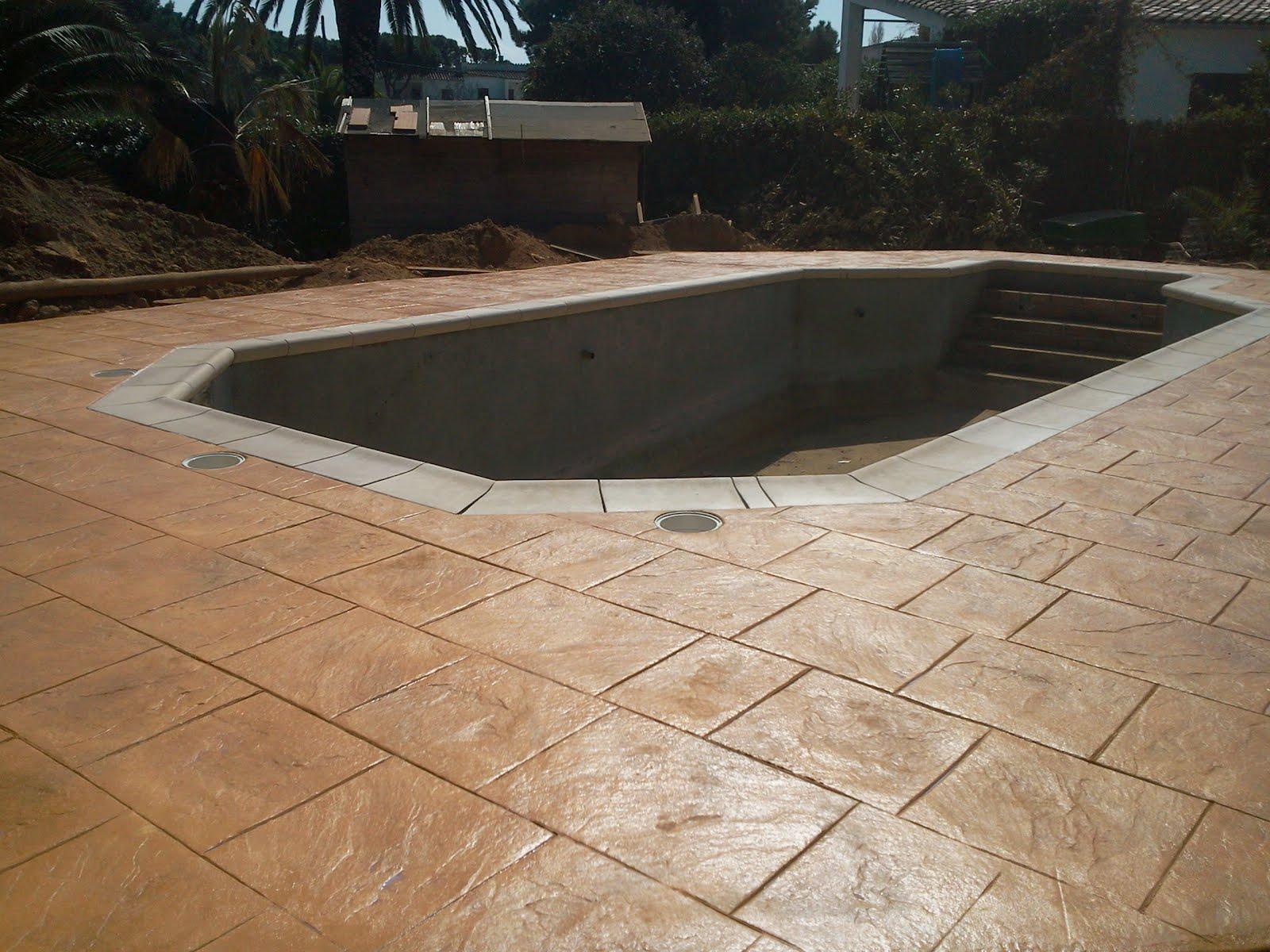 Imagenes de reformas y pavimentos sanchez tejaya acabados for Pavimento para piscinas