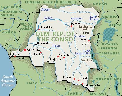 20 CongoKinshasaZaireDemocratic Republic of Congo 1960present