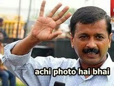 new kejriwal photo comments