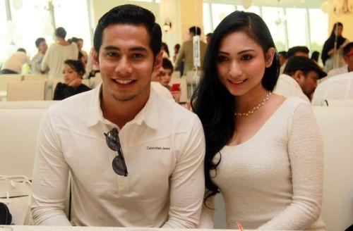 Fizo Omar bersama kekasihnya