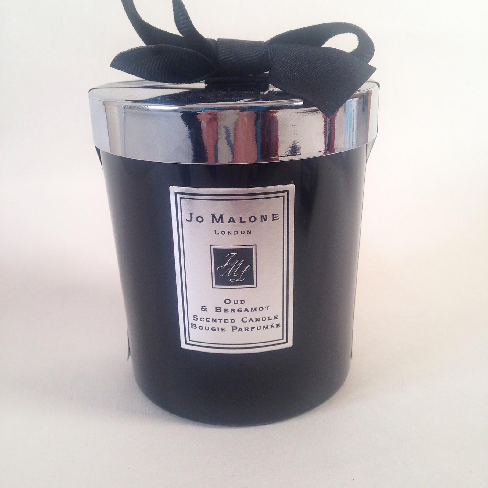 Jo Malone Oud & Bergamot Candle