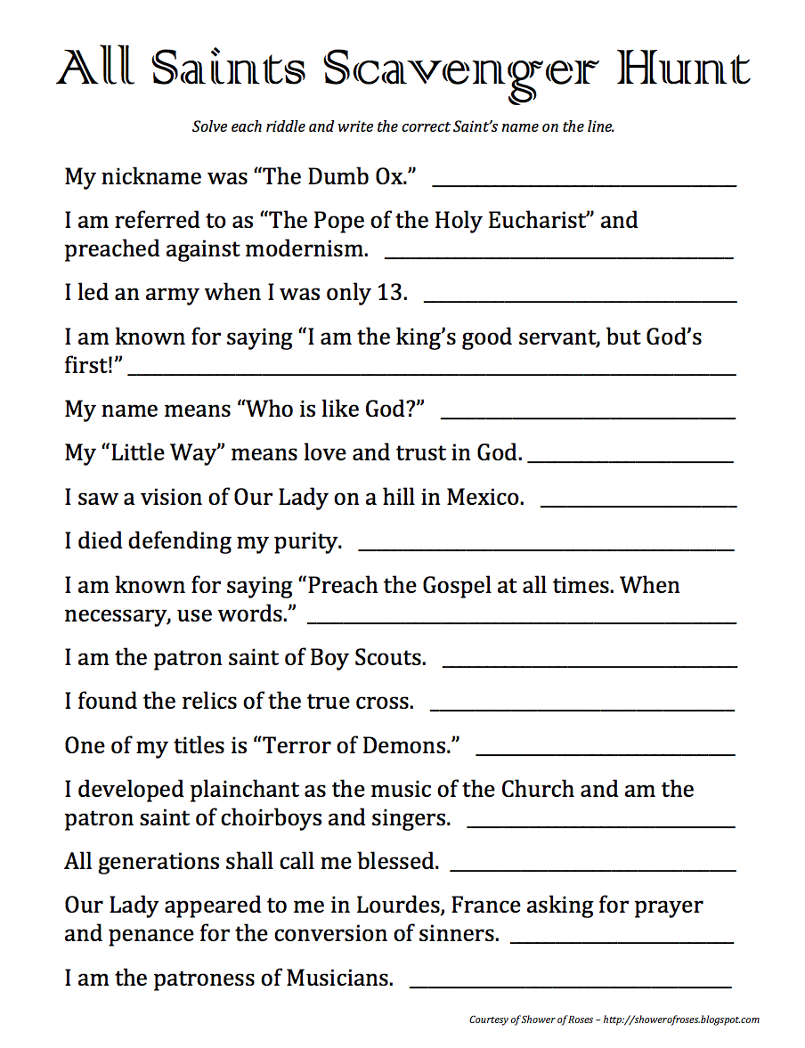 worksheet Scavenger Hunt Worksheet printable bible worksheet kids scavenger hunt bloggakuten