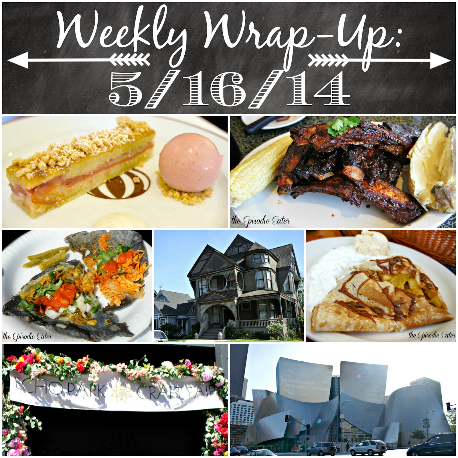 Weekly Wrap-Up: Exploring L.A. on Diane's Vintage Zest!