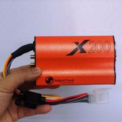 X200 – thiết bị định vị GPS dành cho ô tô đạt chuẩn quốc gia
