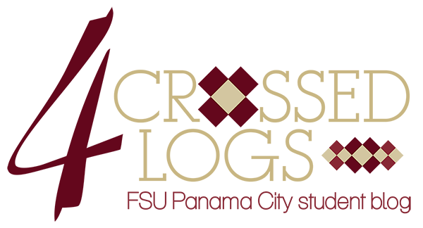 Four Crossed Logs