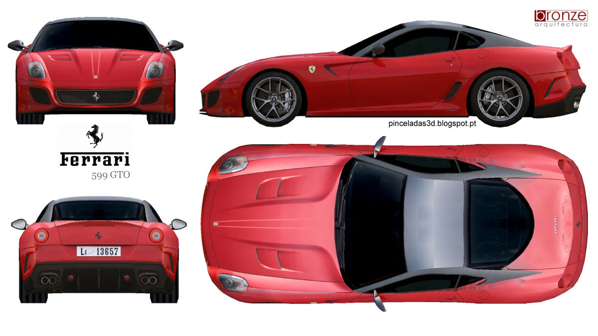 Ferrari Blueprint Www Pixshark Com Images Galleries
